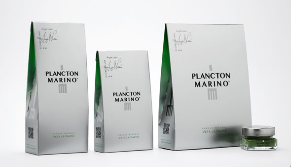 Plancton Marino - Packaging